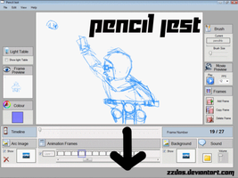 Pencil Jest test by ZZDas