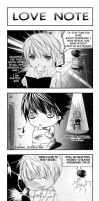 DN:Love Note Comic Strip by omigoshi