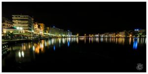 Night Colors in Chalkida by etsap