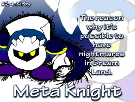 AMPic #24: Meta Knight by AmpleDeviant