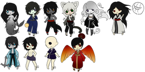 Large Adopt Set:Open: by TheThingsOneAndTwo