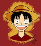 Monkey D. Luffy by Blehcita