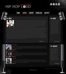 Hip Hop Loud Layout by ghelen