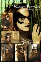Exclusive: Fantasy Portraits 2 by lindowyn-stock