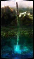 Legend of a Sword by OrmIrian