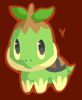 Turtwig by spiffychicken