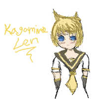 First Tablet Image - Len by kuloi-no-chloe