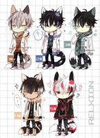 [AUCTION*CLOSED]Lineheart*37[MAFIA] by Relxion-kun