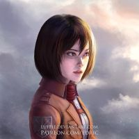 Mikasa Ackerman: After the war alternate story by luffie