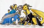 The Isera Family - Art By Wollfisch by AMCAlmaron