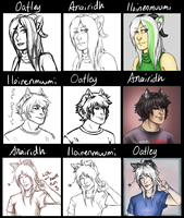 Switcharound Meme with Anairidh and Iloinenmuumi! by Daft--Art