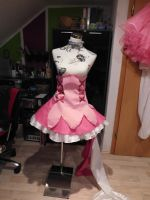 Cure Peach Cosplay Progress by LunaticelPictures