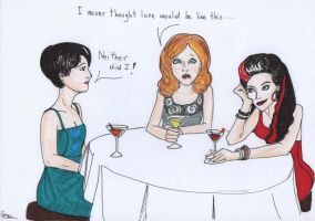 OUAT: Girls' Night by hollys14