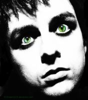 billies green eyes.. by 333Miami333