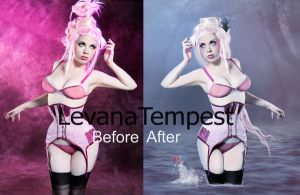 Before and After Lade of the Lake by LevanaTempest