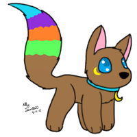 Chibi Asona by CollectionOfWhiskers