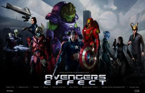 Avengers Effect Fan Art Mashup by rs2studios