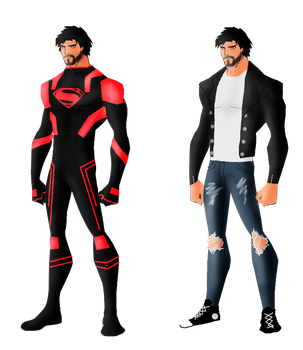 DC Comics Superboy (Connor Kent) by FIREARROW1