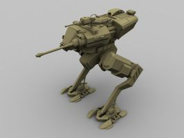 Pollux Scout Walker 2 by TheMightyZoidZilla