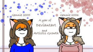 A Belated Year of Deviantart by golddew