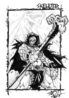 Skeletor Sketch (A7) by darnof