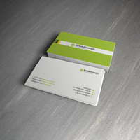 Breakthrough business card by harmonikas996
