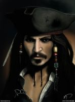 Captain Jack Sparrow by soulundone