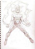 Electro Redesign pencils by ParisAlleyne