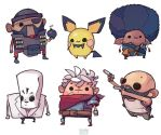 Video game characters looking real tough by michaelfirman