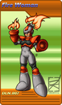 MegaGirls Project: Firewoman by DKDevil