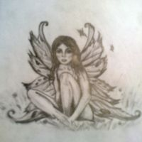 fairy tattoo design by drewcarcrazy