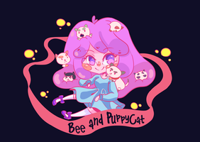 Bee and PuppyCat! by MindlessFrappe