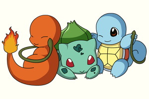 PKMN: Pokemon Starters by Xeohelios