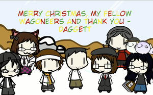 Merry Christmas from Daggett (Gif) by Daggett-Walfas