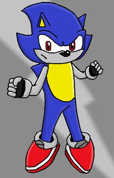 MS the hedgehog by Anthonystuff
