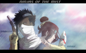 Ninjas of the mist by H1W0