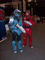 Red Vs. Blue Halo Cosplay by hinn888