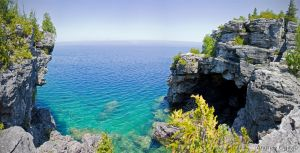 Bruce Peninsula Grotto by PrimalOrB