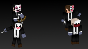 Payday: The Heist Minecraft Skins by DeinoLover4ever