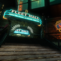 Fleet Hall entry. by Gigsav