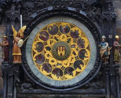 Astronomical Clock in Prague by AS142