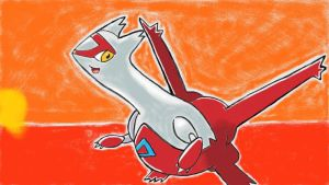 LATIAS, the Eon Pokemon by BNAGalaxyWarrior