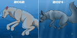 Just Relax - 2012 vs 2014 by Sephinta