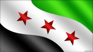 Syria Flag HD by MGQsy