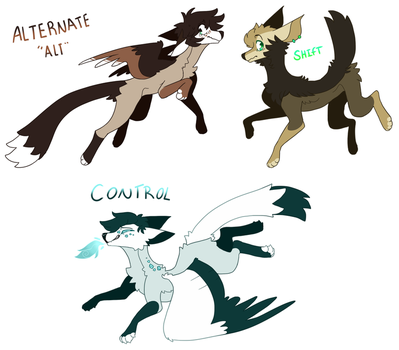 some re-redesigns omg by Oricori