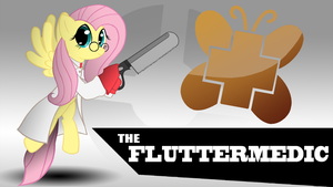Fluttermedic Wallpaper by TheAljavis