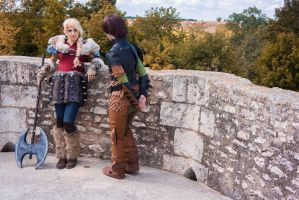 Astrid ... Can I ask you something ? by Kigane