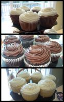 Cupcakes Closeup by garfey