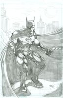 Batman pencils 2 by seanforney