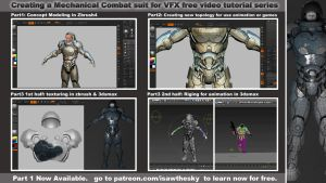 Creating a Mechanical Combat suit Part One by spartanx118